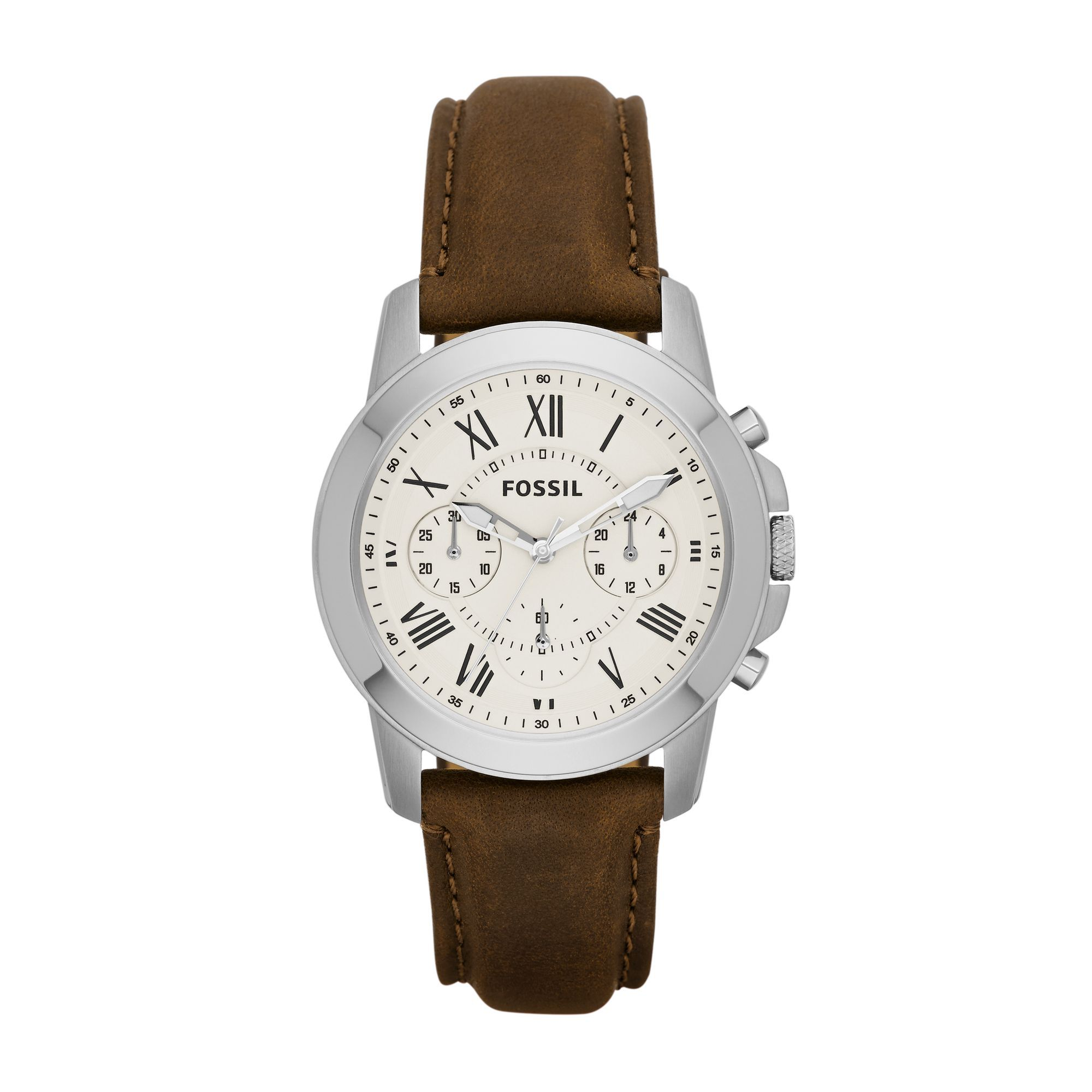 Fossil Uhr FS4839 Grant mit Gravur | Fossil uhren