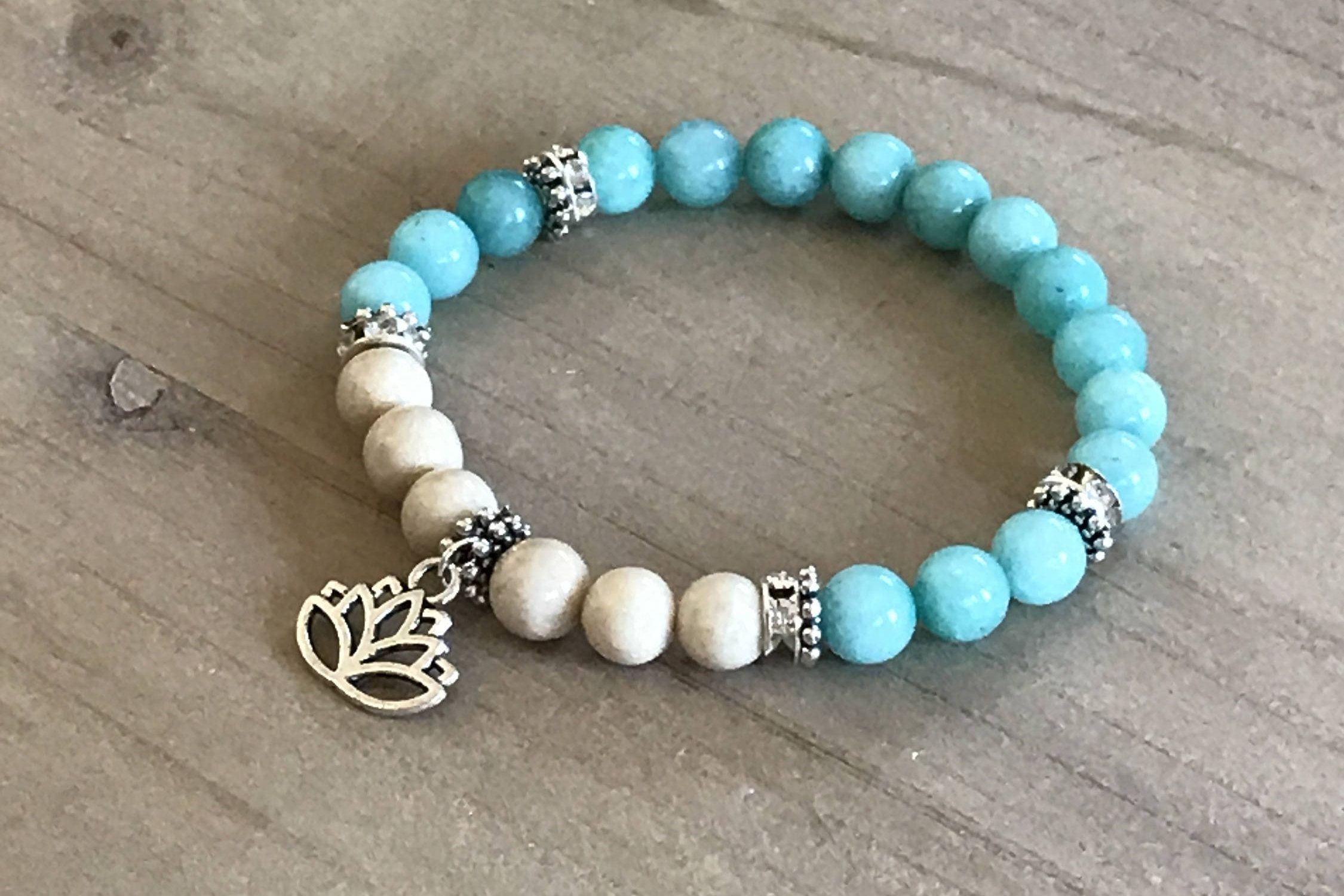 Ite Bracelet Fossil Yoga Boho