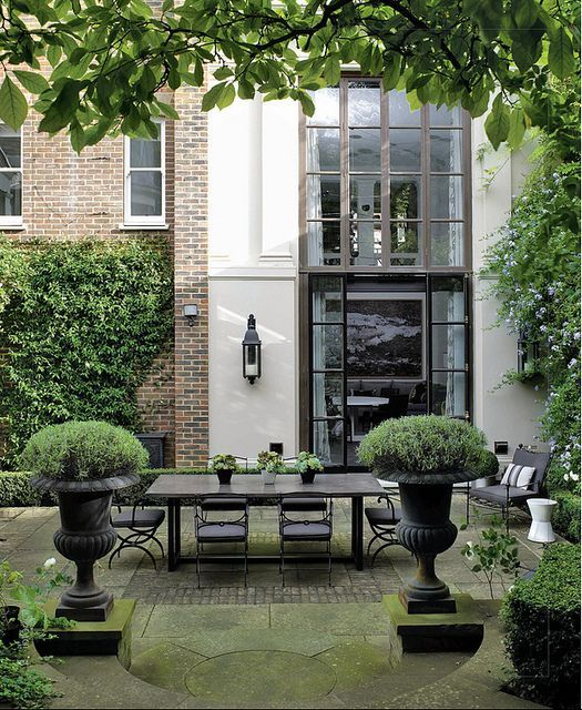 Beautiful Formal Patio Garden Paths Patios Decks And