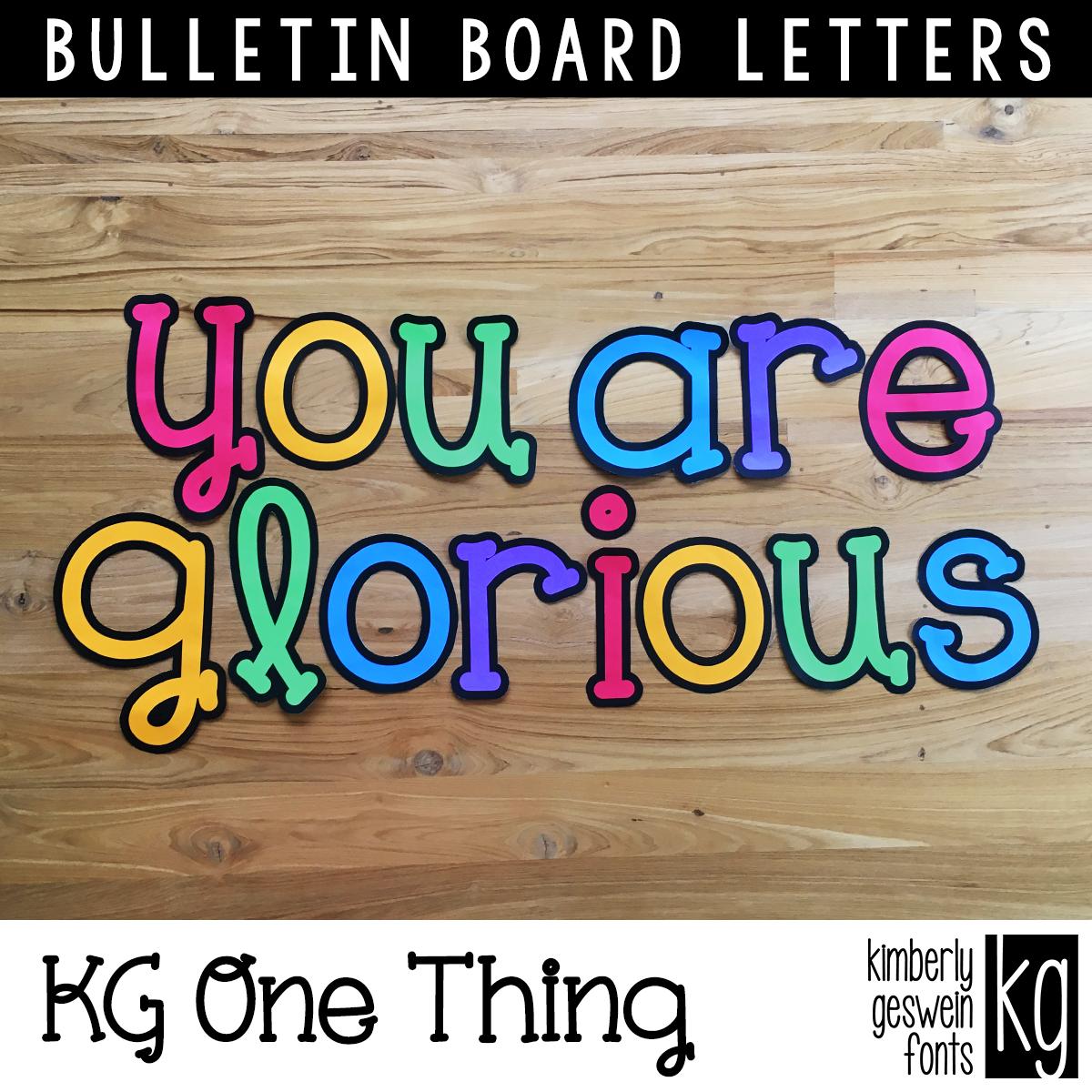 Pin On Bulletin Board Lettering