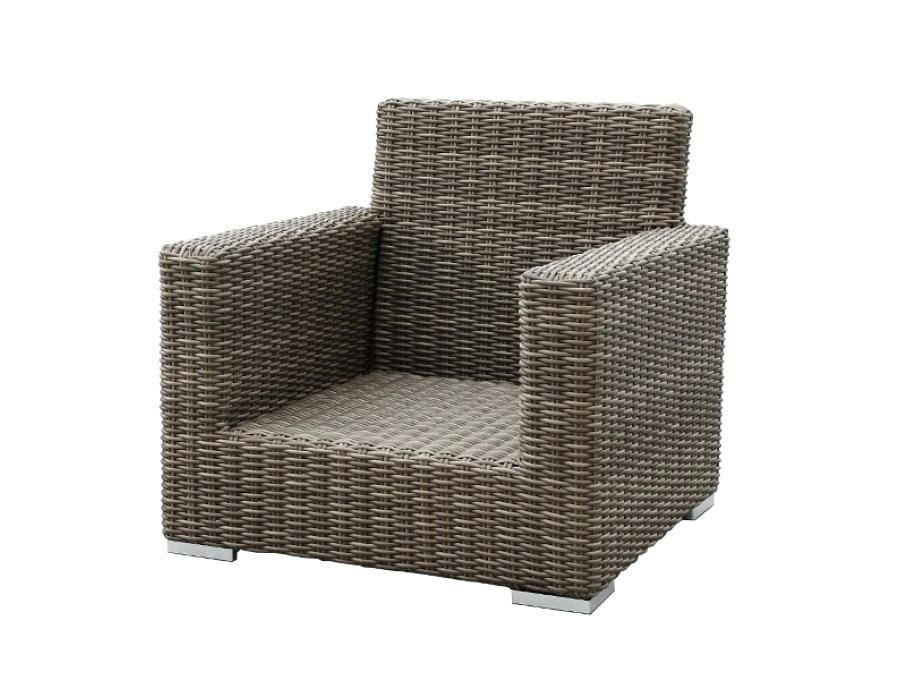 No Cushion Patio Furniture Sunset West Outdoor Club Chair Without Cushions Replacement Clearance
