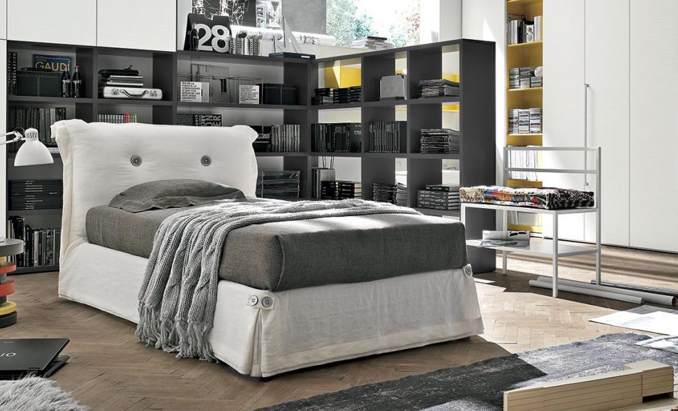 tomasella #letto #singolo #cameretta #cameradaletto #bedroom ...