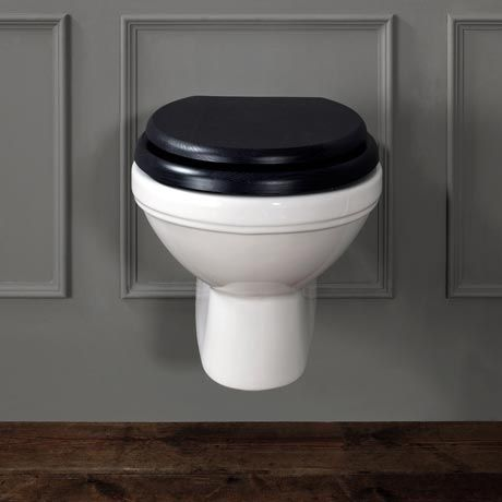 Silverdale Empire Wall Mounted Pan Now At Victorian Plumbing Co Uk Wall Hung Toilet Traditional Bathroom Floating Toilet