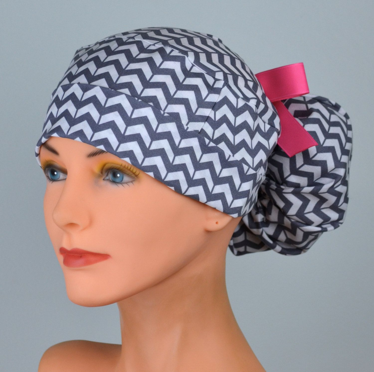 Image Result For Ponytail Scrub Hat Pattern Free Printable Scrub