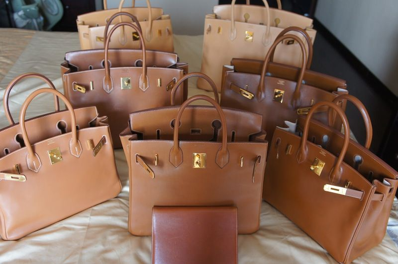 1dc4e4cb17bc My Biggest Reveal Ever: 6 Birkins+ 1 HAC in Gold Shade - PurseForum ...