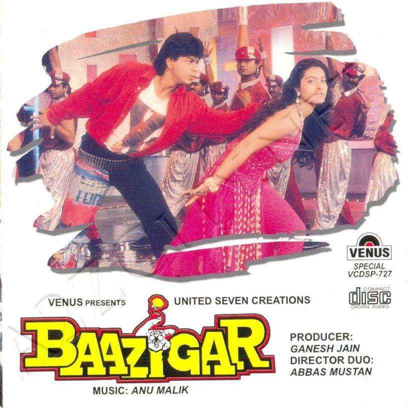 Baazigar 1993 Flac Bollywood Movie Songs Bollywood Songs Film Song