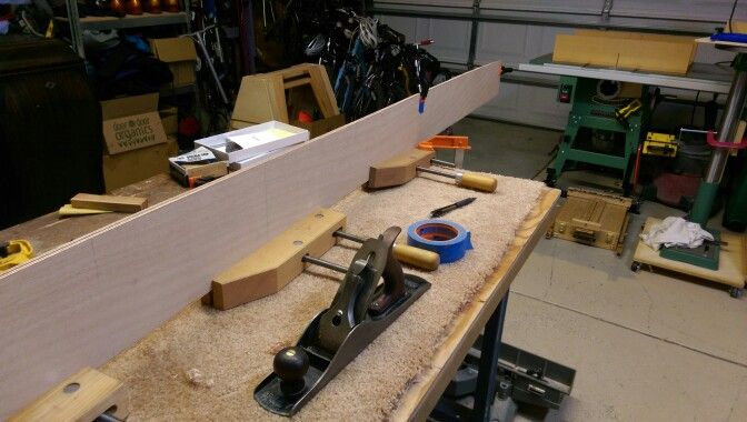 Shaping the sides
