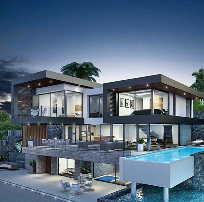 Woowwww Modern House Exterior Luxury Homes Dream Houses House Designs Exterior
