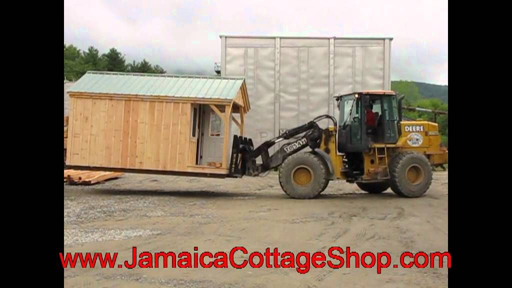 Moving One Of Our 10 X 16 Pond House Cabins Youtube Video Https Www Youtube Com Watch V Lhlima1y0wa Index 25 List Uus Moving House Tiny Cabins Tiny House