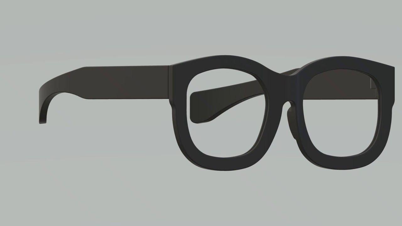 7e947893549a American Spectacles 3D-Printed Wearable Wayfarer