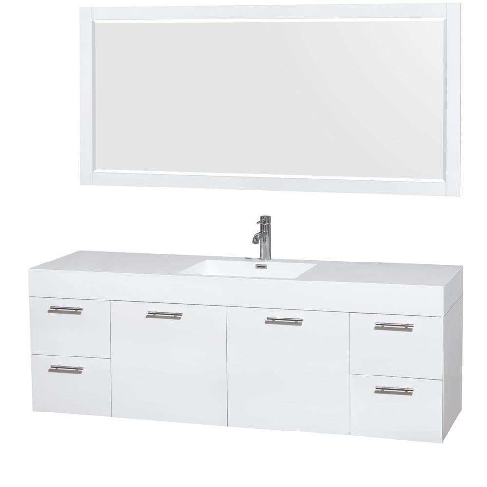 double storage pin vanities inch bathroom vanity