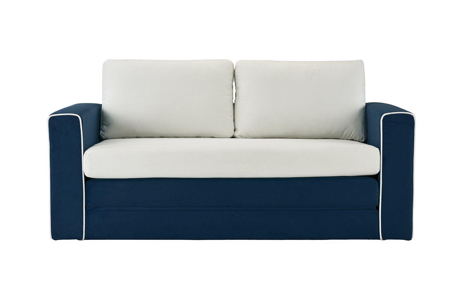 Dru 2 Tone Modular Sleeper Sofa
