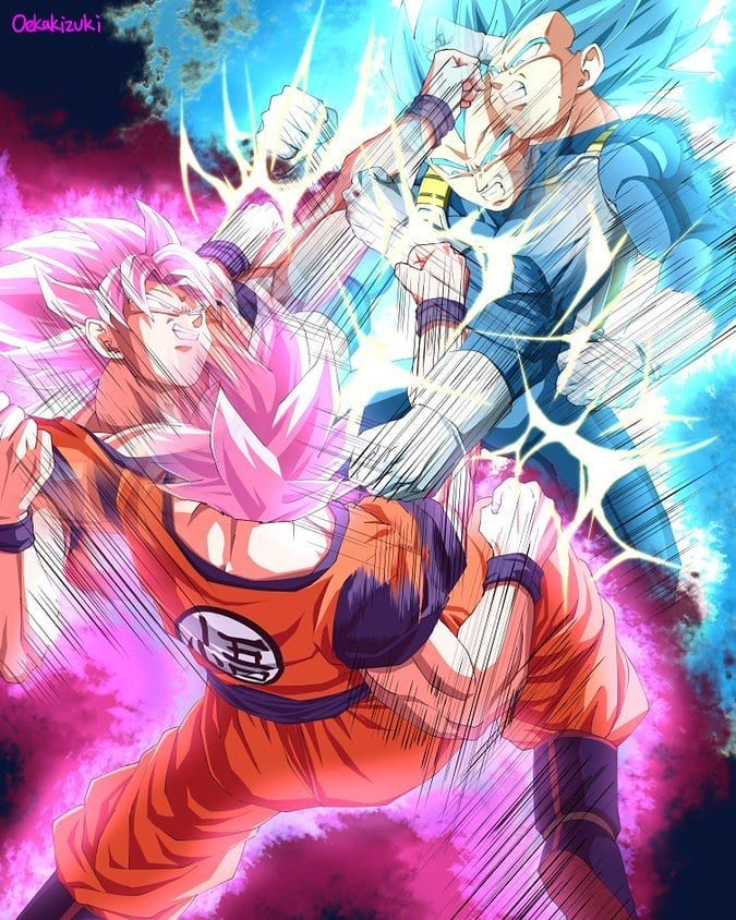 goku vs vegeta goku x pinterest dragon ball dragon and goku