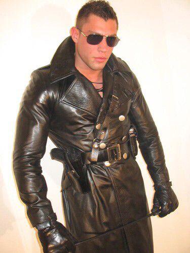Hot trench coat
