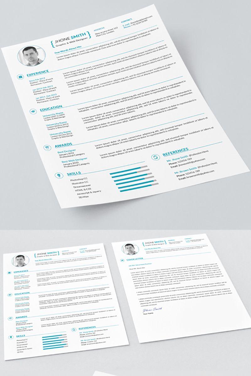 Graphic designer resume template 71570 graphic design