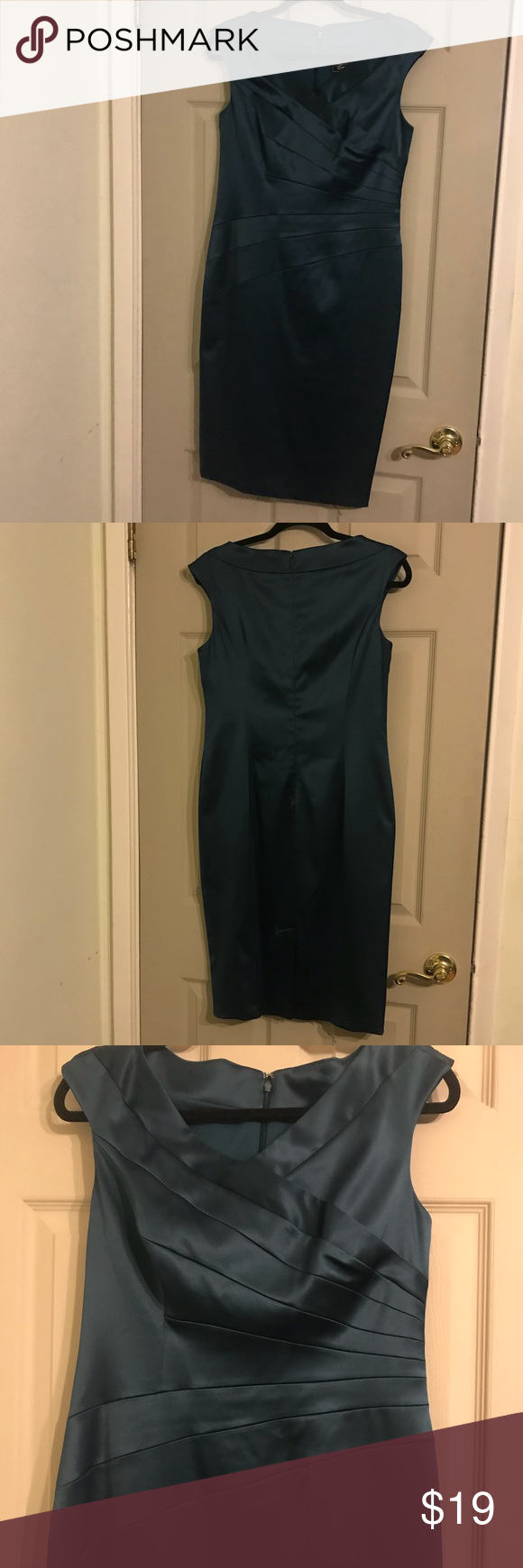 Dressbarn Collection Classy Dark Teal Dress (With images