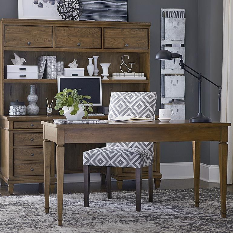 commonwealth 56 writing desk by bassett furniture features style rh pinterest com