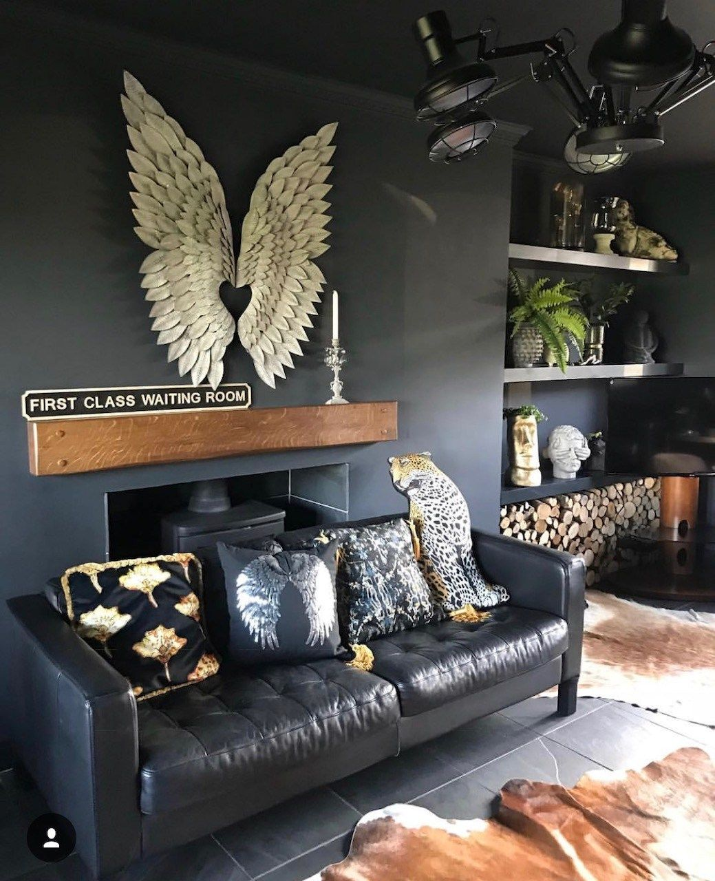 Eclectic Dark Glamorous Home Tour Sally Worts Decor