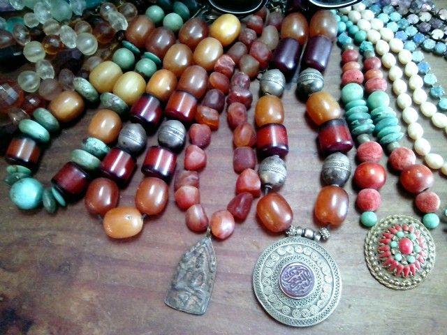 ethnic necklaces  - tsafi gome designs