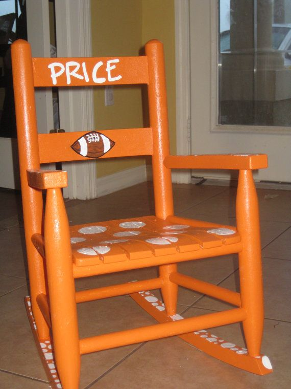 Fantastic Tennessee Vols Volunteers Childs Rocking Chair Baby Boy Dailytribune Chair Design For Home Dailytribuneorg