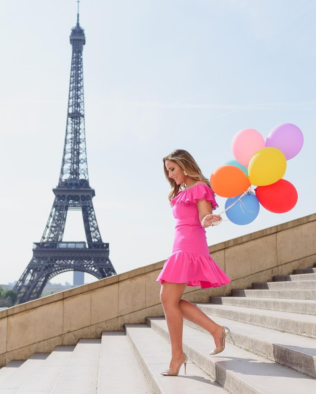 Colorful And Fun Paris Photoshoot In 2019