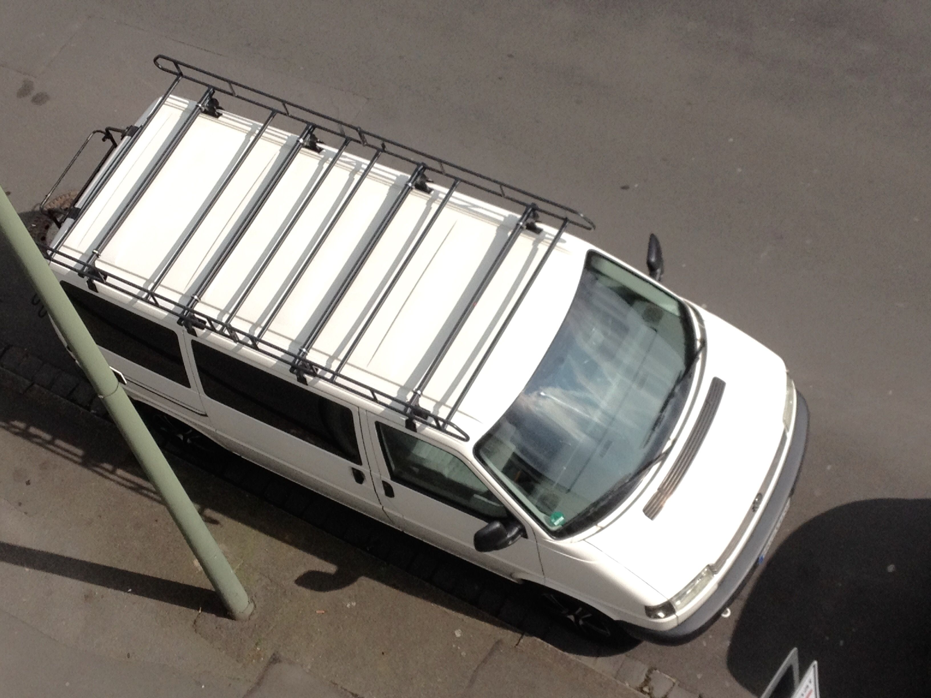 vito roof rack on vw t4 bus. Black Bedroom Furniture Sets. Home Design Ideas