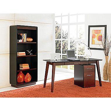Kathy Ireland Home by Martin Infinity Laminate Writing Desk office