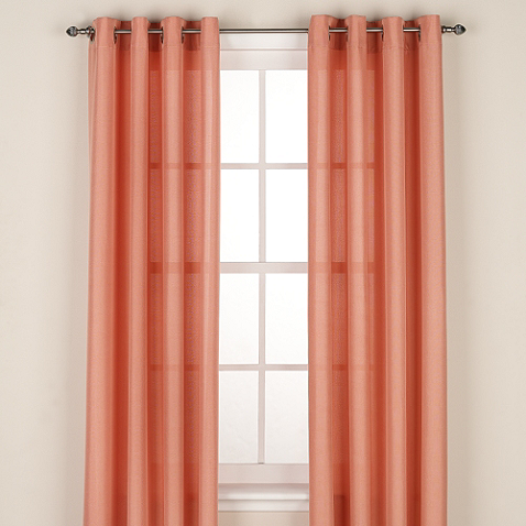 Regal Home Collections Avery Grommet Window Curtain Panel Panel
