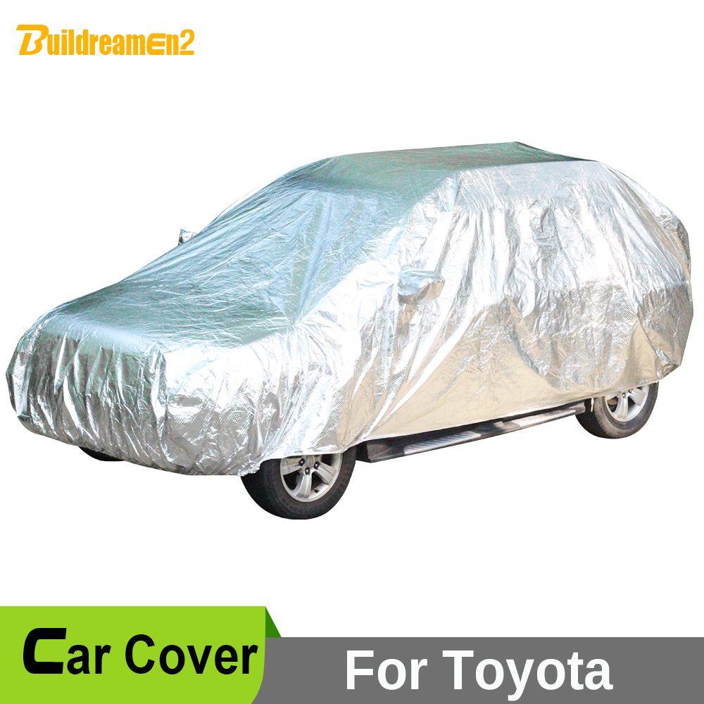 Buildreamen2 Waterproof Car Cover Sun Rain Hail Snow