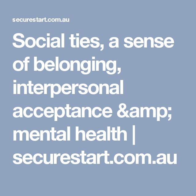 Social ties and mental health - Semantic Scholar