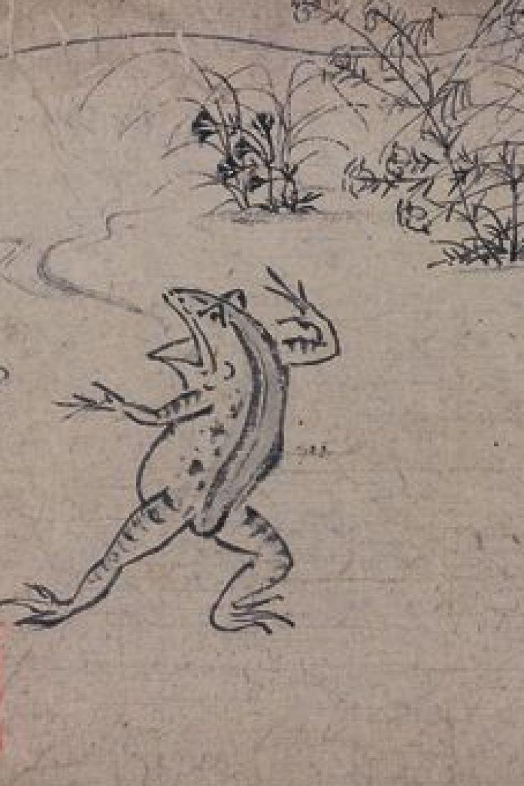 鳥獣戯画 は誰がどこで描いた 東京国立博物館に現存作品が集結 画像 鳥獣戯画 戯画 鳥獣