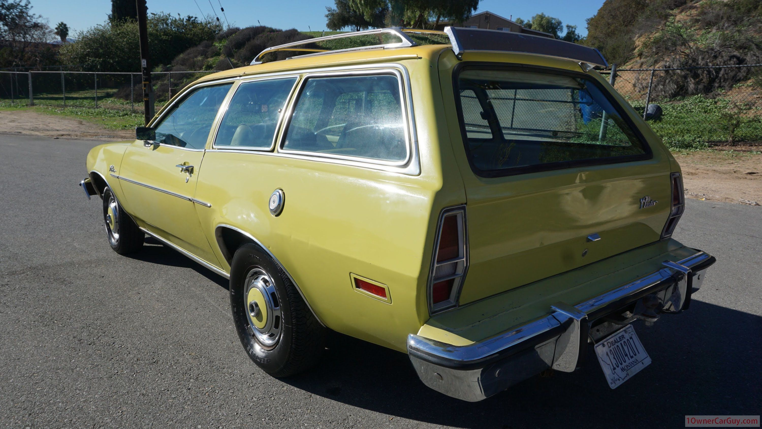 Ford Pinto Pony Review 2 Door Station Wagon Runabout Classic Car ...