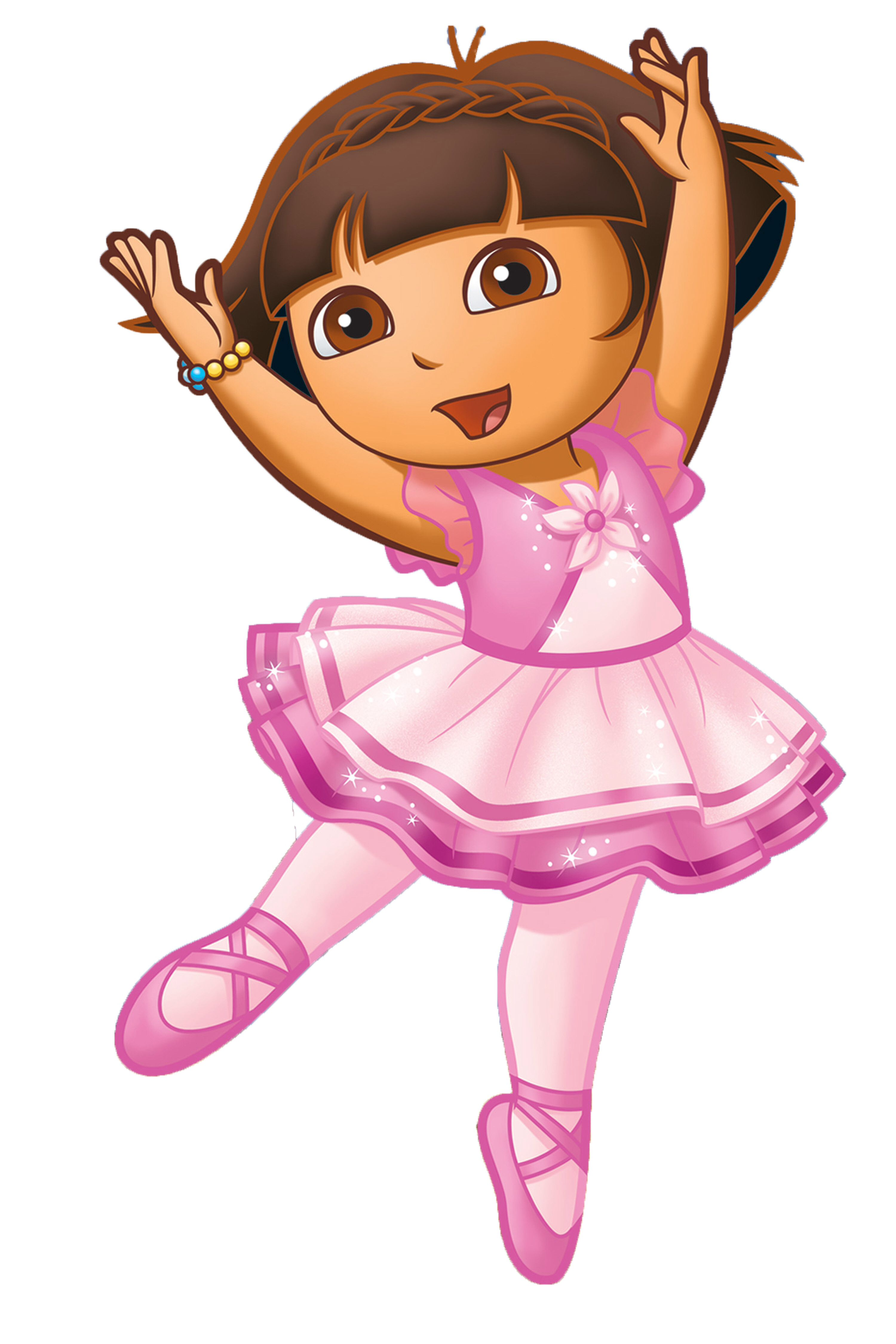 Dora the explorer ballet are mistaken