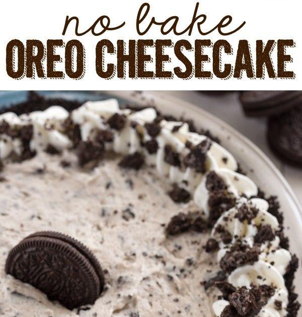 Resepi cheese kek oreo, resepi cheese kek tanpa bakar, resepi cheese kek mudah