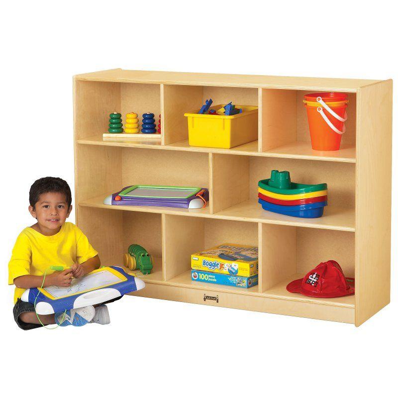 Jonti-Craft Super-Sized Single Storage Bookcase Purple - 2691JCWW004