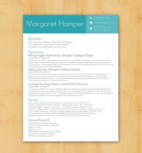 Resume Writing and Design Custom Resume Design  Writing Service