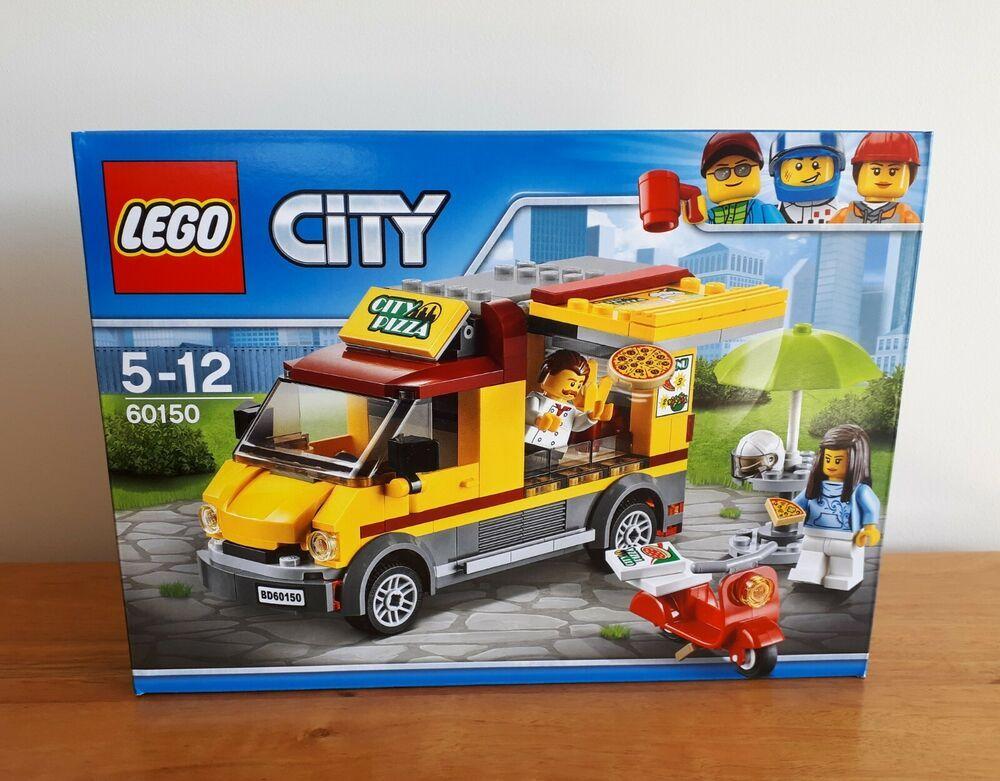 Lego City Pizza Van 60150 Lego City Lego Pizza Vans