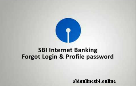How To Reset Sbi Profile Password Online Sbi Netbanking Login Forgot Credit Card Online Online Profile
