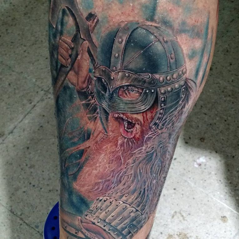 Viking tattoo | Viking tattoos, Viking tattoo design ...
