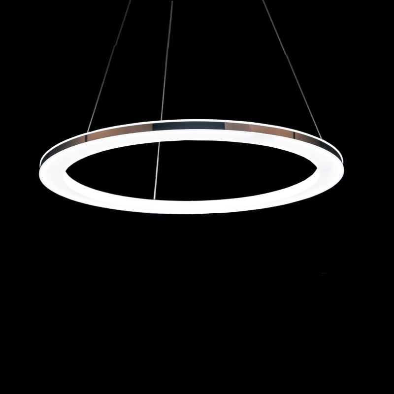 Pin by skywell glasses store on pendant lamps for interior decor buy modern simple acrylic led circle pendant light 1 tier ceiling lights with lowest price and top service mozeypictures Image collections