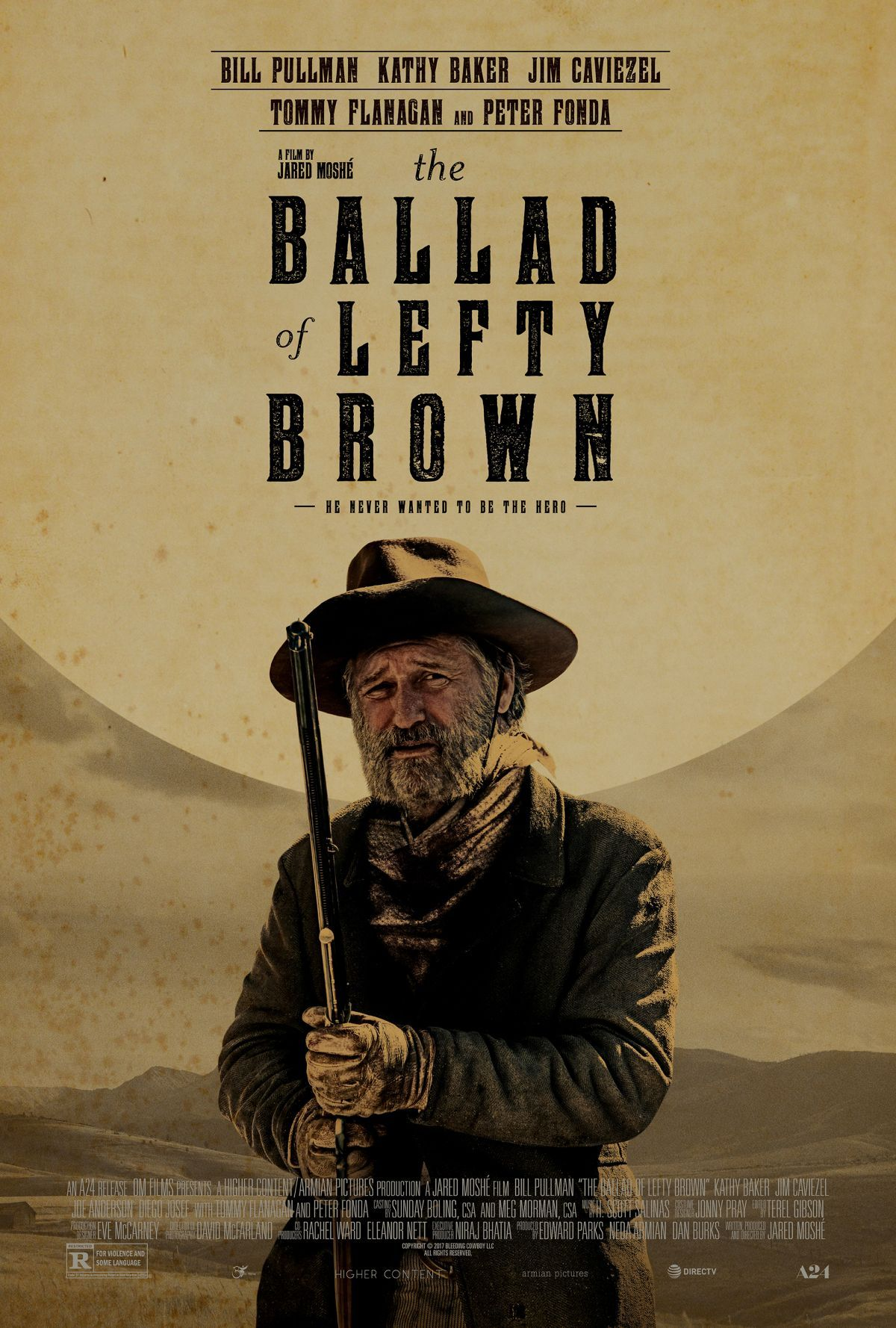 New Poster for A24's Western 'The Ballad Of Lefty Brown