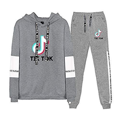 Tik Tok Conjunto 2 Piezas Mujer Invierno Completo Sportivo Pantalon Y Ropa Para Ninas Fashion Ropa Para Chicas Adolescentes Ropa