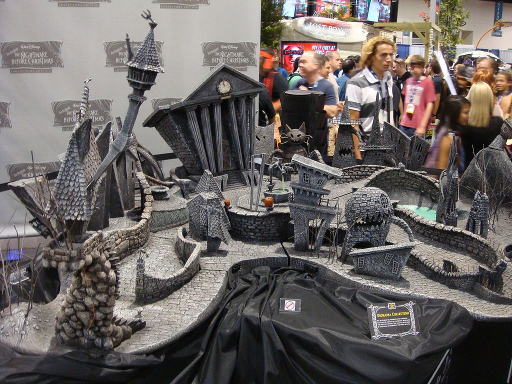 nightmare before christmas town - Google Search | the nightmares ...