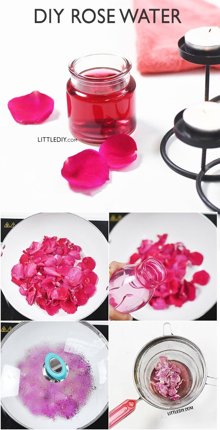 How To Make Rose Water Benefits Homemade Rose Water How To Make Rose Rose Water