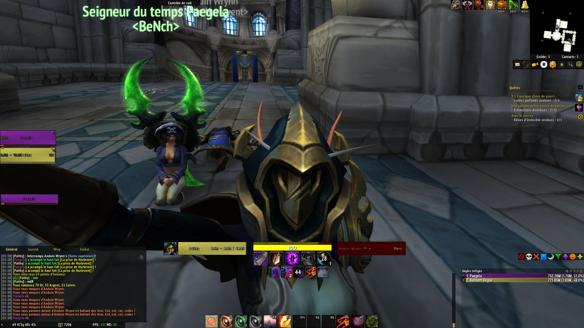best dating a hunter in wow bfa
