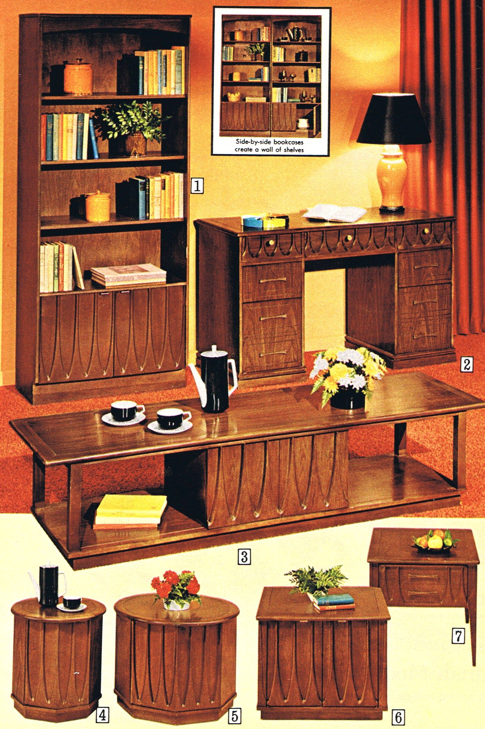 1971 Sears Pacesetter Collection The Mid Century Mail