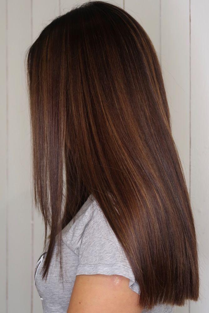 Från blond till brunett med varma hårfärger och fi