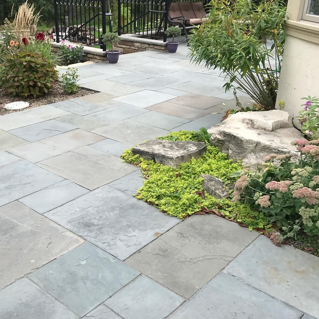 The Best Stone Patio Ideas   Stone patios, Patios and Wooden decks