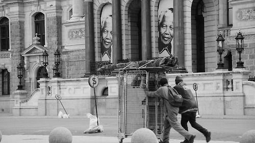Pictures of MAndela, By Thozama Mputa