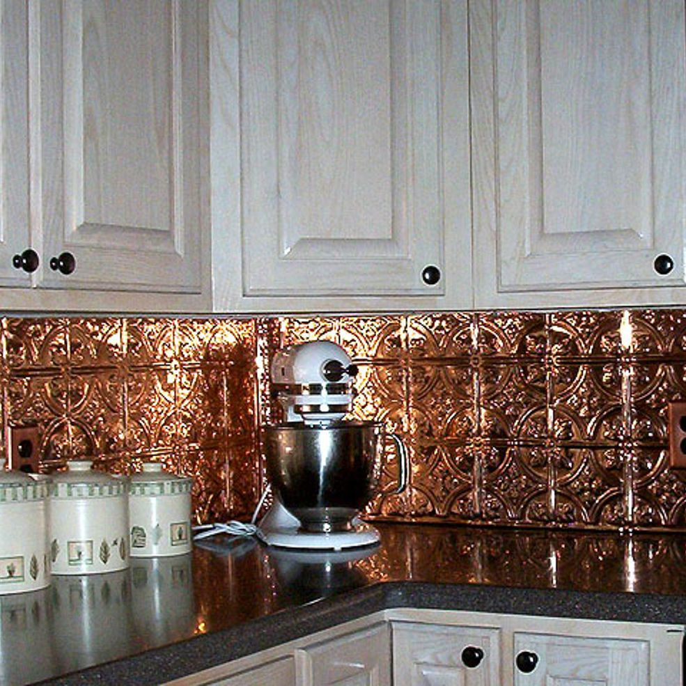- Metal Ceiling Tiles Give An Extravagant & Luxurious Look To Any